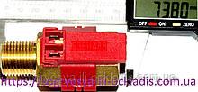 Датчик протоку води II Bitron лат. різьблення з Холу (б.ф.у, EU) котлів Beretta MY, артикул RP21I, к. з. 0070/5