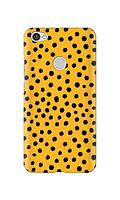 Чехол «Горох на желтом» для Xiaomi Redmi Note 5A (с отпечатком) / Redmi Note 5A Prime / Redmi Y1 Силиконовый