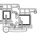 Петля дверная Simonswerk K4045 15-19мм 80кг белая, фото 3