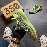 Мужские кроссовки Adidas Yeezy Boost 350 v2 Yeеzreel, Мужские кроссовки Адидас Изи Буст В2 зеленые