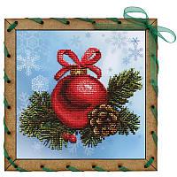 """Наборы для вышивки на полимерной перфорированной основе Perfostitch """"Новогодний шарик"""", фото 1"""