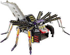 Мекард Паук Арактула Мекардимал Машина-трансформер Mecard Mega Aractula Mecardimal Mattel оригинал, фото 3