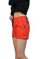 Шорты женские короткие,шорты трикотажные теракота,шорты женские летние,жіночі короткі шорти 42 р.