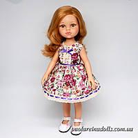 """Платье """"Ретро розочки"""" для кукол Паола Рейна"""