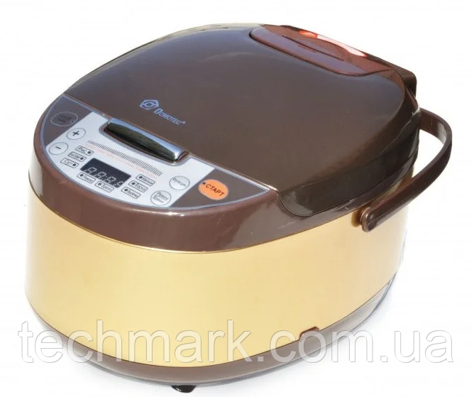 Мультиварка DOMOTEC MS7723G  900Вт, 5л, 11 програм приготовления с фритюрницей.
