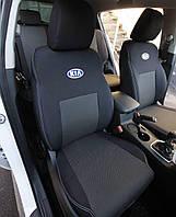 Авточехлы Kia Rio III Sedan (цельный диван) с 2011 г