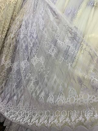 Тюль фатиновый в зал гостинную 160ТмІ, фото 2