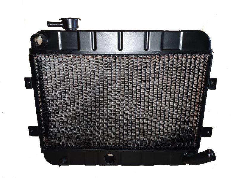 Радиатор водяного охлаждения ВАЗ 2101 медный 2 рядный пр-во Иран Радиатор