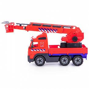Пожарная машина кран VOLVO 58 см Wader 77301, фото 3