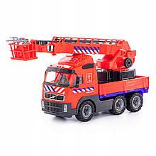 Пожарная машина кран VOLVO 58 см Wader 77301