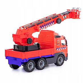 Пожежна машина кран VOLVO 58 см Wader 77301, фото 2