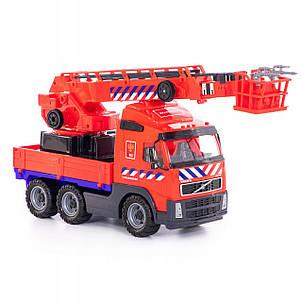 Пожарная машина кран VOLVO 58 см Wader 77301, фото 2