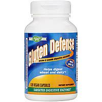 """Пищеварительные ферменты Nature's Way """"Gluten Defense with DPP IV"""" для переваривания глютена (120 капсул)"""