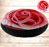 Подушка-пуфік Троянда 45х45 см.