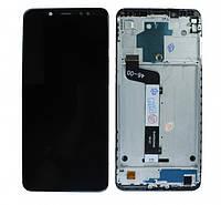 Дисплей (модуль) для Xiaomi Redmi Note 5, Redmi Note 5 Pro (M1803E7SG) (с рамкой) Черный
