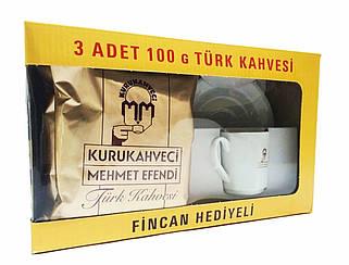 """Подарочный набор кофе """"Kurakahveci Mexmet Efendi"""""""