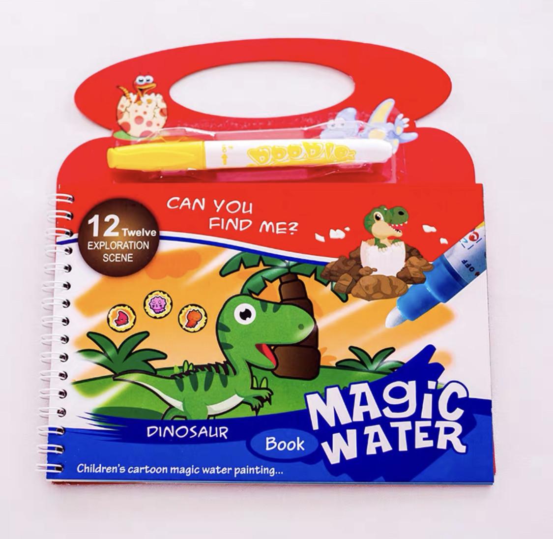 Детские многоразовые водные раскраски Water magic ...