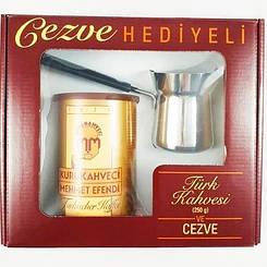 """Подарочный набор кофе с туркой """"Kurakahveci Mexmet Efendi"""""""