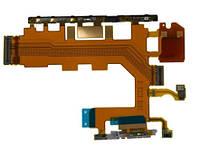 Шлейф для Sony D6502 Xperia Z2, D6503 Xperia Z2 кнопка включения, регулировки громкости