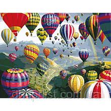 """Картина по номерам """"Воздушные шары"""", 40х50 см, 3*"""
