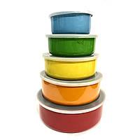 Набор емкостей для хранения продуктов 5 шт. Benson BN-651