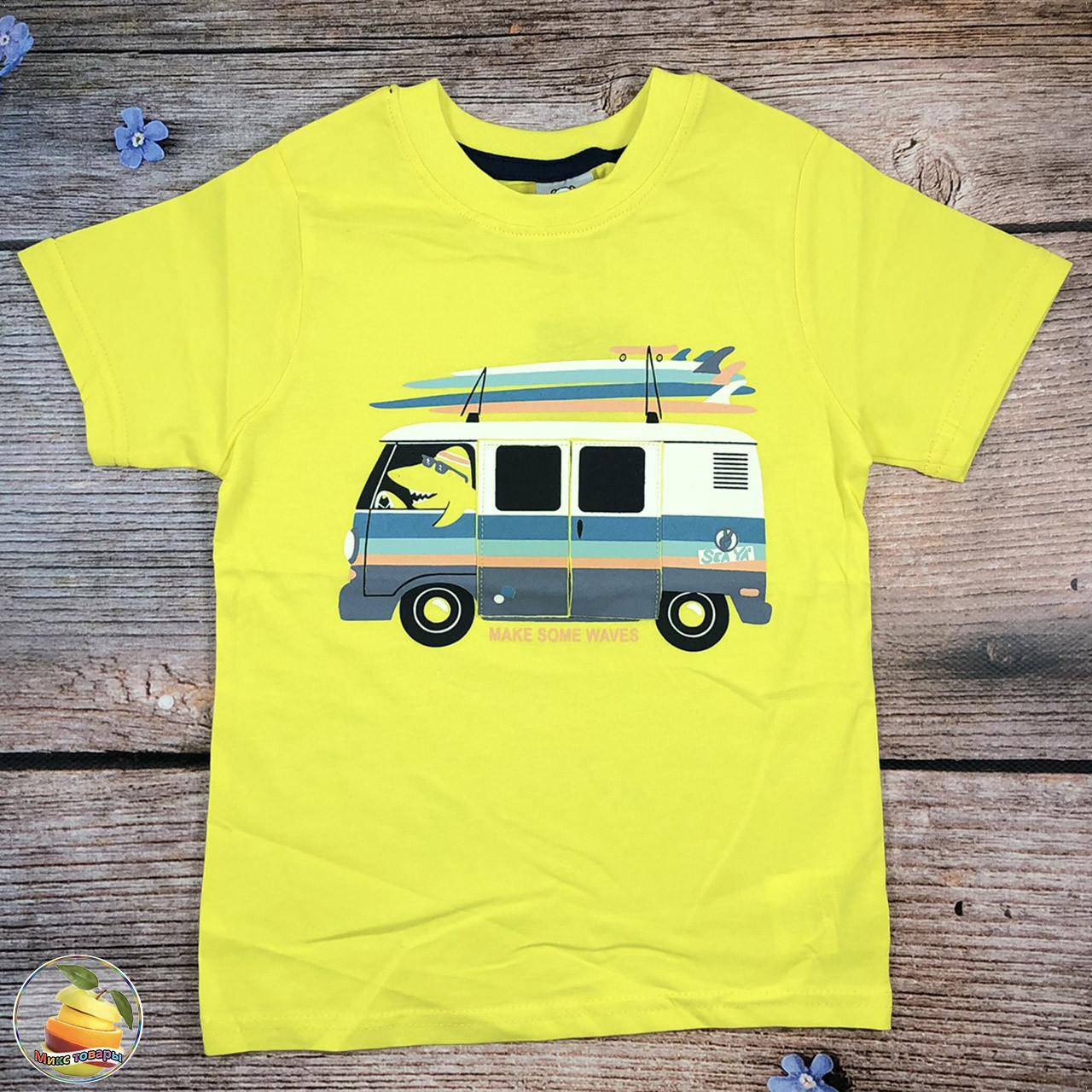 Детская мальчуковая футболка Размеры: 2,4,6,8 лет (20300)