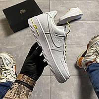 Мужские кроссовки Nike Air Force 1 Lux, Мужские Найк Аир Форс Люкс Кожаные Белые мужские кроссовки