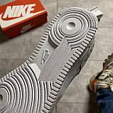 Мужские кроссовки Nike Air Air Force '07 LV8, Мужские Найк Аир Форс Кожаные Белые мужские кроссовки, фото 7