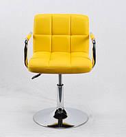 Кресло мастера Arno Arm С Base, желтое