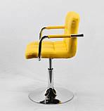 Кресло мастера Arno Arm С Base, желтое, фото 3