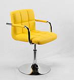 Кресло мастера Arno Arm С Base, желтое, фото 4