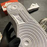 Кроссовки белые низкие Nike Air Force Найк Аир Форс Кожа Офф вайт 🔥 Найк мужские кроссовки 🔥, фото 8