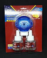 Електрофумігатори від Комарів CANYE 120 Nights Protection з Рідиною 2х45мл, фото 1