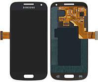 Дисплей для Samsung Galaxy S4 mini i9190, i9192, i9195, модуль в сборе (экран и сенсор), синий, оригинал
