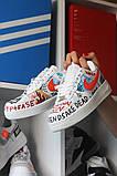 Кроссовки белые низкие Nike Air Force Pauly x Vlone Pop Найк Аир Форс Кожа В Лон 🔥 Найк мужские кроссовки 🔥, фото 6