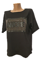 Модные женские футболки Amore
