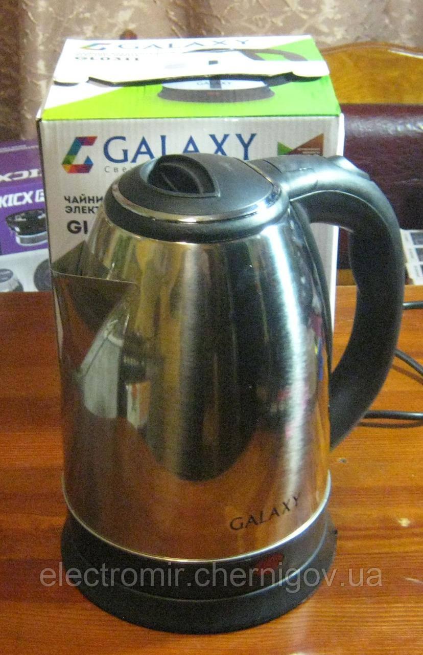 Чайник електричний Galaxy GL-0311 1.8 л 1800W (нержавійка)