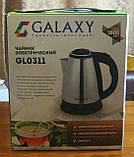 Чайник електричний Galaxy GL-0311 1.8 л 1800W (нержавійка), фото 2