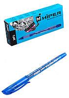 """Ручка гелевая """"Hiper"""" синяя 10шт / уп."""