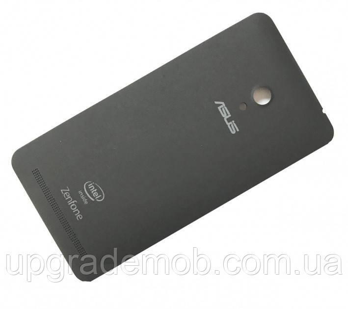 Задня кришка Asus ZenFone 6 (A600CG), чорна, Charcoal Black, оригінал