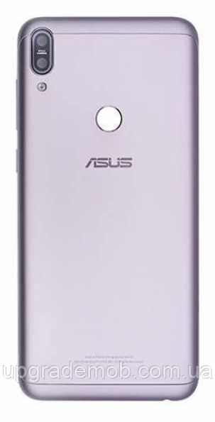 Задняя крышка Asus ZenFone Max Pro M1 ZB601KL, серебристая, Meteor Silver, оригинал