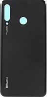 Задняя крышка Huawei P30 Lite (MAR-L21)/Nova 4e, черная, Midnight Black, оригинал