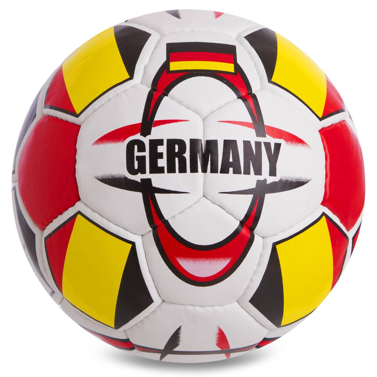 Мяч футбольный №5 Гриппи 5сл. GERMANY FB-0696