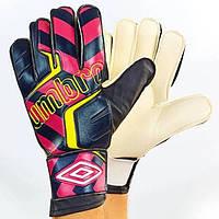 Перчатки вратарские Umbro черно-красные FB-840-2 (реплика)