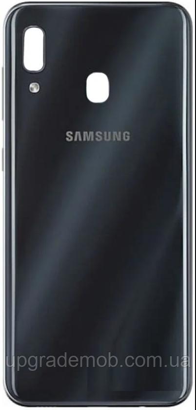 Задняя крышка Samsung A305 Galaxy A30 2019, черная, оригинал