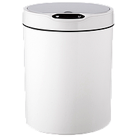 Сенсорное мусорное ведро JAH 12 л круглое белое