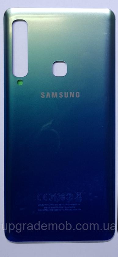 Задняя крышка Samsung A920F Galaxy A9 (2018), синяя, оригинал