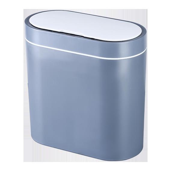 Сенсорное мусорное ведро JAH 8 л прямоугольное серое