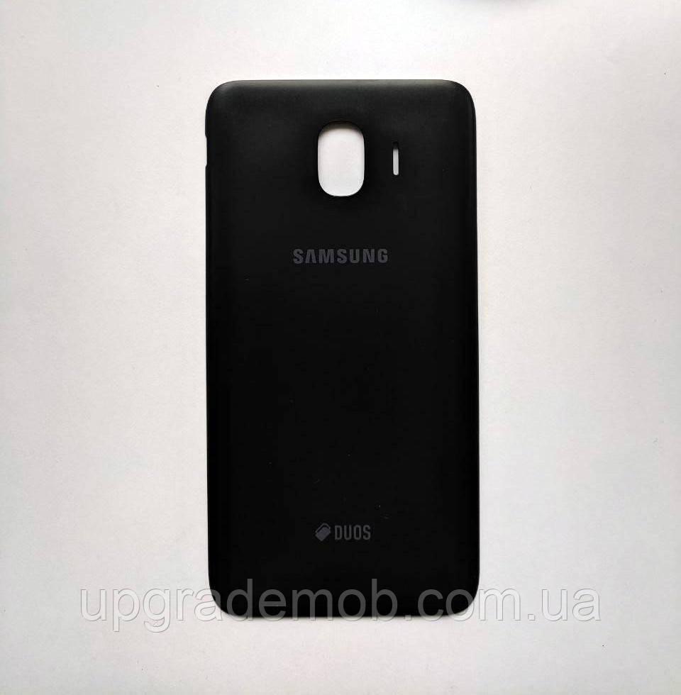 Задня кришка Samsung J400F Galaxy J4 (2018), чорна, оригінал