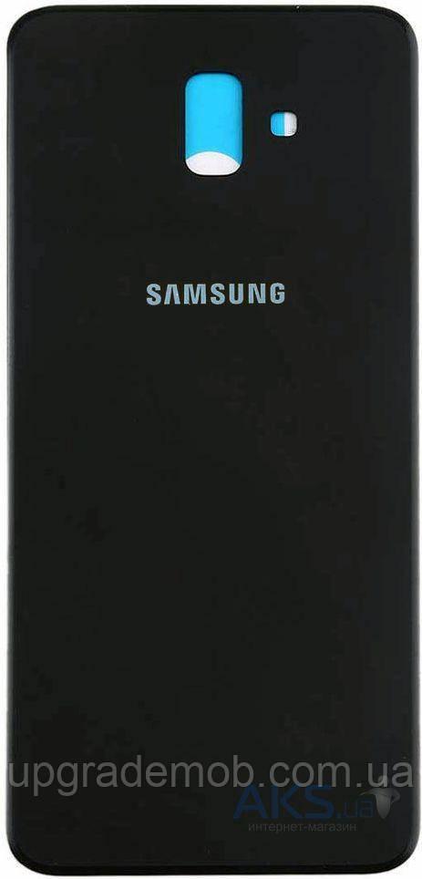 Задняя крышка Samsung J610 Galaxy J6 Plus, черная, оригинал